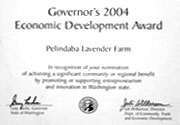 Governor's Economic Development Award