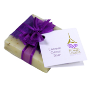 Lavender soap and stocking stuffers made by Pelindaba Lavender