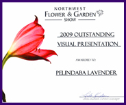Pelindaba Lavender Farm wins at Northwest Garden Show