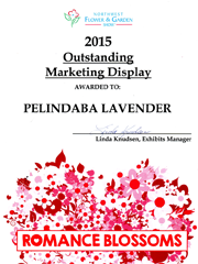 Pelindaba Lavender wins at Northwest Flower & Garden Show