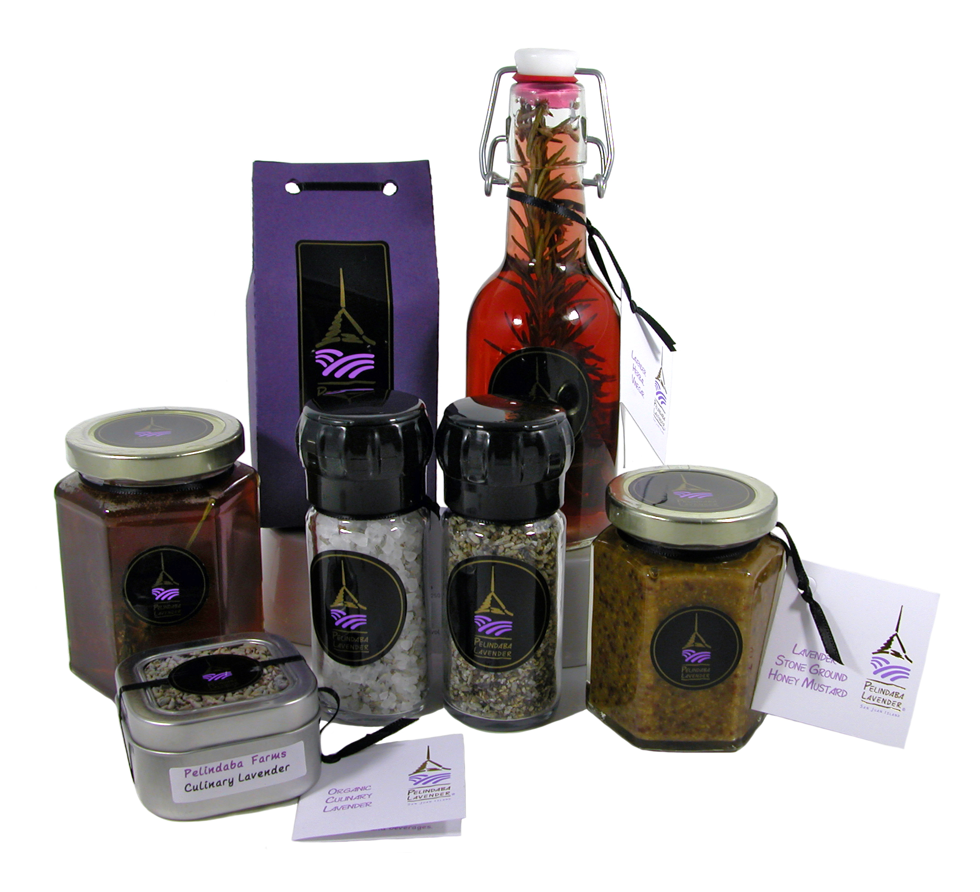 organic lavender culinary products from Pelindaba Lavender