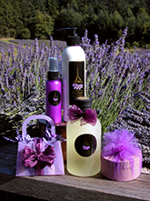 lavender products handcrafted by Pelindaba Lavender Farm