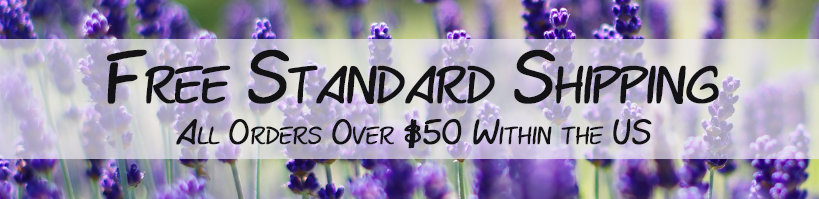 Free Shipping for Lavender Product Orders