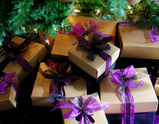 Gift Wrapping for Lavender Gifts from Pelindaba Lavender