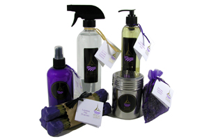Lavender Products for the Home Handmade by Pelindaba Lavender