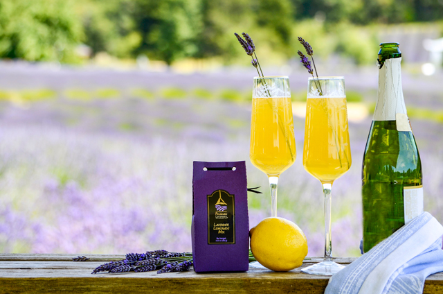 How To Make The Perfect Lavender Lemon Mimosa
