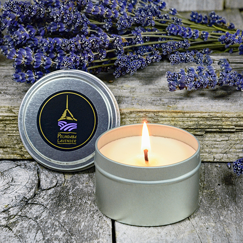 Lavender Essential Oil Candles