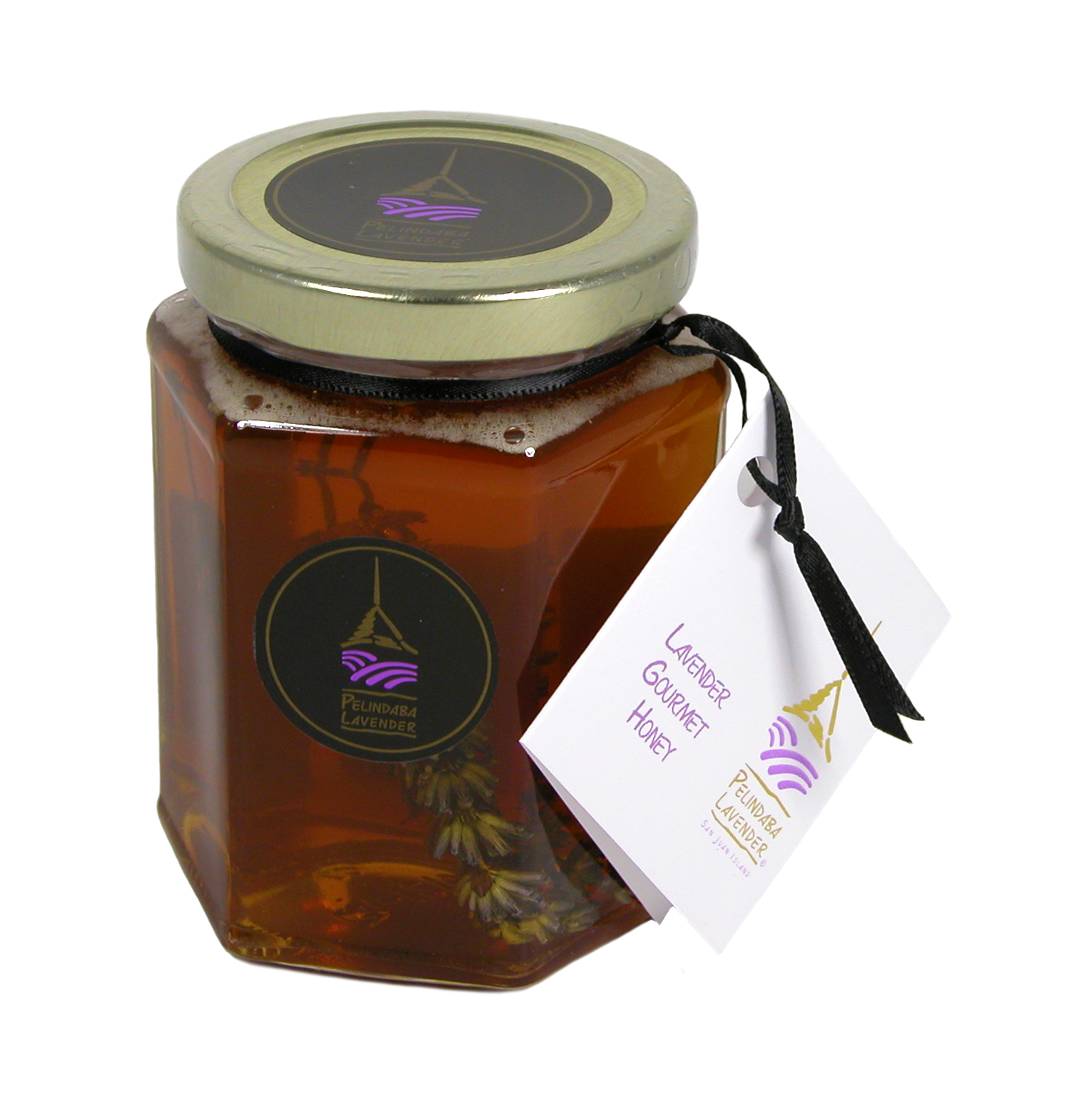 Pelindaba Lavender Gourmet Honey made from our own organic lavender flowers